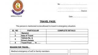 Kerala Makes E-pass Mandatory For Travel During Lockdown: Here's How to Apply and Get One