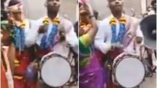 Atmanirbhar Dulha? Groom Plays The Band At His Own Wedding, Video Amuses Netizens   Watch
