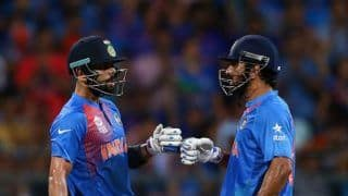 My relationship with ms dhoni is based on trust and respect virat kohli 4701610