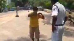 COVID 19 Viral News: लॉकडाउन में घर से बाहर निकला रसगुल्ला खरीदने, पुलिस ने कुछ यूं लगाई क्लास