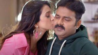 Hum Hain Rahi Pyar Ke: Pawan Singh- Harshika के रोमांस ने मचाया गदर, जोरदार है Video