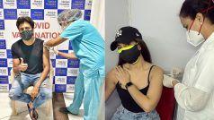Riteish Deshmukh-Sonakshi Sinha ने कोरोना वैक्सीन लगवाते हुए शेयर की फोटो, यूजर बोला- हम वेटिंग लिस्ट वाले लोग