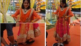 Yeh Rishta Kya Kehlata Hai: Shivangi Joshi Aka Sirat Performs Ghoomar Dance on Plate   Viral Video