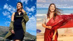 Divyanka Tripathi ने केप टाउन से शेयर की 'ऑन लोकेशन' वाली ग्लैमरस तस्वीरें, लोग बोले-WHY SO GORGEOUS?