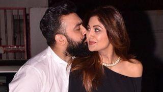 कोरोना काल में ऐसे प्यार कर रहे हैं Shilpa Shetty और राज कुंद्रा, कांच की खिड़की से झलक रहा है इश्क़