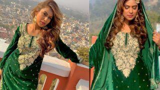 Nia Sharma ने अब सूट में लूटा आशिकों का दिल, हुस्न की तपिश से जल जाते हैं लोग- Photos Viral