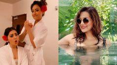 Mithun Chakraborty की बहू को बाथटब में आई 'पिया' की याद, Madalsa Sharma काडांस अवतार हुआ Viral