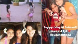 Baby Suhana Khan Dances to 'Yeh Mera Dil' in This Rare Birthday Special Video