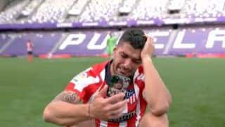 Luis Suarez Couldn't Control 'Tears of Joy' After Guiding Atletico Madrid to Their 11th La Liga Title   Watch