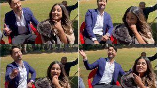 Shaheer Sheikh Sings 'Bumbro Bumbro' While Hina Khan Calls Him 'Farzi Kashmiri' - Watch Video