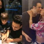 The Kapil Sharma Show Fame Krushna Abhishek Kickstarts His Birthday With Mushy Kiss From Wife Kashmera