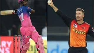 IPL 2021, RR vs SRH Head to Head, Prediction Match 28 at Arun Jaitley Stadium: Weather Forecast, Pitch Report, Predicted Playing XIs, Toss, Squads For Rajasthan Royals vs Sunrisers Hyderabad