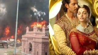 Jodhaa Akbar Set Caught Massive Fire in Karjat, No Casualties