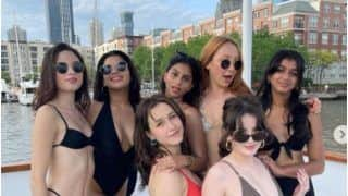 Suhana Khan And Her Girl Gang's Jacuzzi Party Wearing Stunning Swimwear on Yacht is Too Hot to Handle