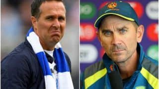 Justin Langer Reacts After Michael Vaughan Takes a Jibe at Australia