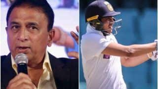 The Pressure of Expectations is Getting to Shubman Gill - Sunil Gavaskar