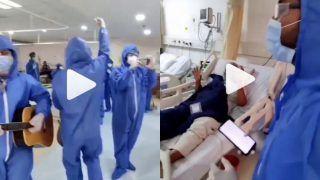 Viral Video: Hospital Staff Sings 'Namo Namo Ji Shankara' from Sushant Singh Rajput's Film for COVID Patients | Watch