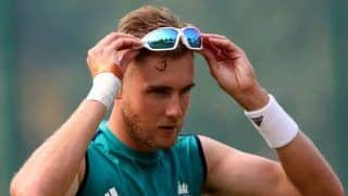 I Want to Play All Seven Tests: England Speedster Stuart Broad