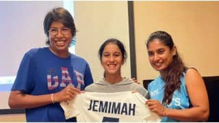 Jemimah Rodrigues sends out her Heart-Felt Message to Indian Women's Veterans
