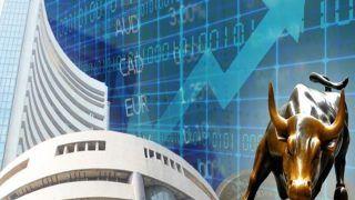 Share market update: शेयर बाजार में उतार-चढ़ाव भरे कारोबार के बीच नई ऊंचाई पर पहुंचे सेंसेक्स-निफ्टी