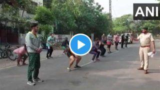 Video: हरियाणवी छोरों को लॉकडाउन तोड़ना पड़ा भारी, पुलिस ने सुबह-सुबह किया ये हाल