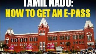 Tamil Nadu Lockdown: Who Needs E-Pass, Who is Exempted & How To Apply For It