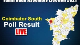 Coimbatore South Election Result: BJP's Vanathi Srinivasan Wins