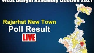 Rajarhat New Town Election Result 2021: Tapash Chatterjee of TMC Wins