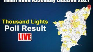 Thousand Lights Tamil Nadu Election Result: DMK's Dr Ezhilan Wins