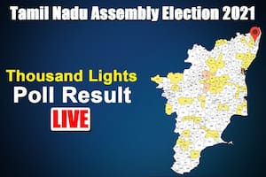 Thousand Lights Tamil Nadu Election Result: DMK's Dr Ezhilan Wins