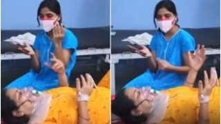 Viral Video: Daughter Sings Bhojpuri Bhajan For Her Covid-Infected Mother to Cheer Her Up   Watch