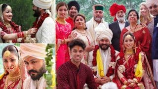 Yami Gautam-Aditya Dhar More Wedding Photos Out: Couple Can't Take Eyes Off Each Other During Jaymala Ceremony