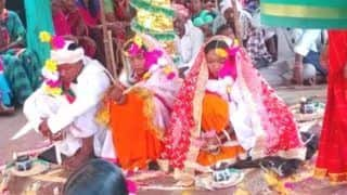Telangana Man Falls In Love With 2 Women, Marries Both of Them At The Same Time | See Pics