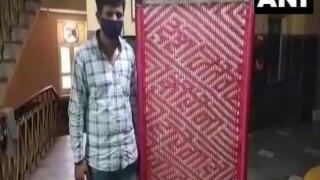 'Desh Jeetega, Corona Harega': Jodhpur Man Weaves Cots With Messages to Raise Awareness About Covid