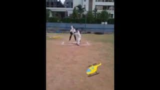 Watch: Aakash Chopra Tweets Video Of Kid Emulating MS Dhoni's Helicopter Shot