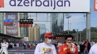 Azerbaijan Grand Prix Live Streaming in India: When And Where to Watch F1 Race Online, TV Telecast of Race Day Today