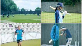 WATCH: India Women Start Training Ahead of The English Challenge
