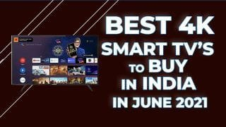 LED TVs Are Not Expensive Anymore! List of Smart TVs With 4K Screens That You Can Buy