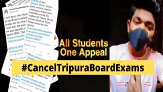 #CancelTripuraBoardExams: Students Appeal in Video Message After Several States Scrap Board Exams