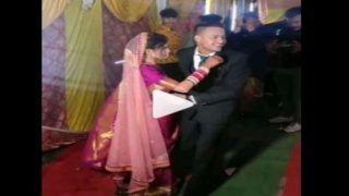 Dulhe Ne Kiya Kiss: चल रहा था रोमांटिक गाना, अचानक दुल्हन को गोद में उठाकर किस करने लगा दूल्हा, लोग बोले- आराम से...