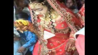 Dulhan Ka Mast Video: दूल्हे से पहली बार हुआ आमना-सामना तो सड़ गई दुल्हन, सरेआम मुंह पर दे मारी ये चीज...