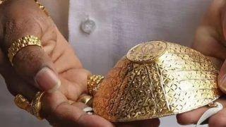 Gold Mask: गले में दो किलो सोना पहनकर घूमते हैं यूपी के Bappi Lahiri गोल्डन बाबा, अब बनवाया खास सोने का मास्क