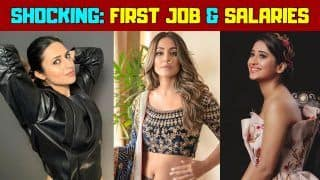 From Divyanka Tripathi to Shivangi Joshi: Know TV actress's First Job and First Salaries | Watch Video
