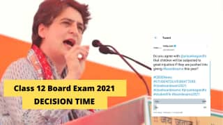 Asking Students To Appear For Exams Amid Covid is Great Injustice, Says Priyanka Gandhi. What Do You Think?