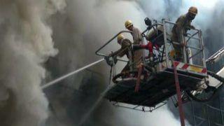 BREAKING: Massive Fire at Clothing Showroom In Delhi's Lajpat Nagar, 30 Fire Tenders at Spot