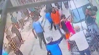 Delhi Shocker on Camera: Biker Hit With Rod, Co-rider Assaulted in Road Rage Incident in Palam Area