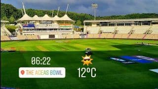 Dinesh Karthik Gives Southampton Weather Update, WTC Final Day 2: No Rain, it is Sunny at Ageas Bowl