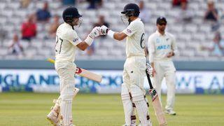 ENG vs NZ, 1st Test, Day 2: शुरुआती झटकों के बाद उबरा इंग्लैंड, दिन की समाप्ति तक 111/2
