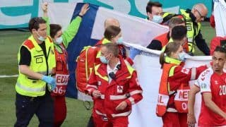 VIDEO: Finland Fans Give Flags to Cover Denmark's Christian Eriksen From Cameras