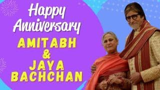 Amitabh Bachchan and Jaya Bachchan's 48th Wedding Anniversary| Watch Video To Know Lesser Known Facts